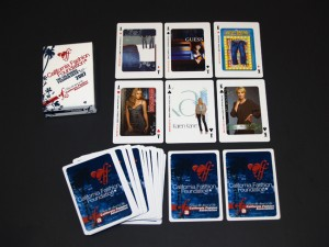 California Fashion Decks Personalized playing cards with Custom Faces