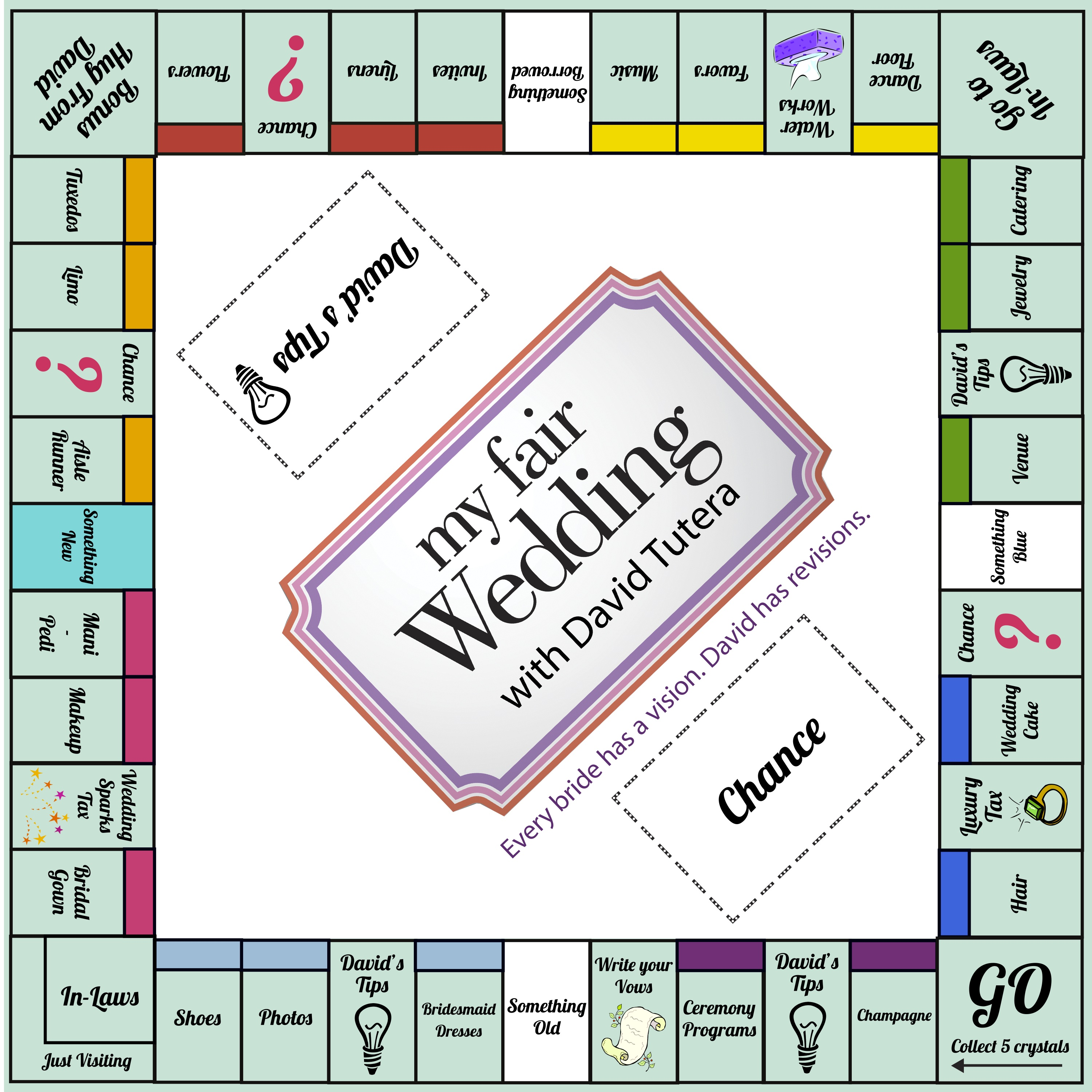 3000 3000 wedding fun pinterest for Custom monopoly board template