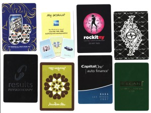Assorted Personalized Playing Cards