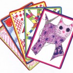 Artistic playing cards