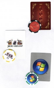 Personalized Playing Cards and Custom Poker Chips