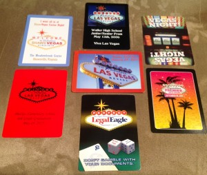 Custom Playing Cards Las Vegas Themed