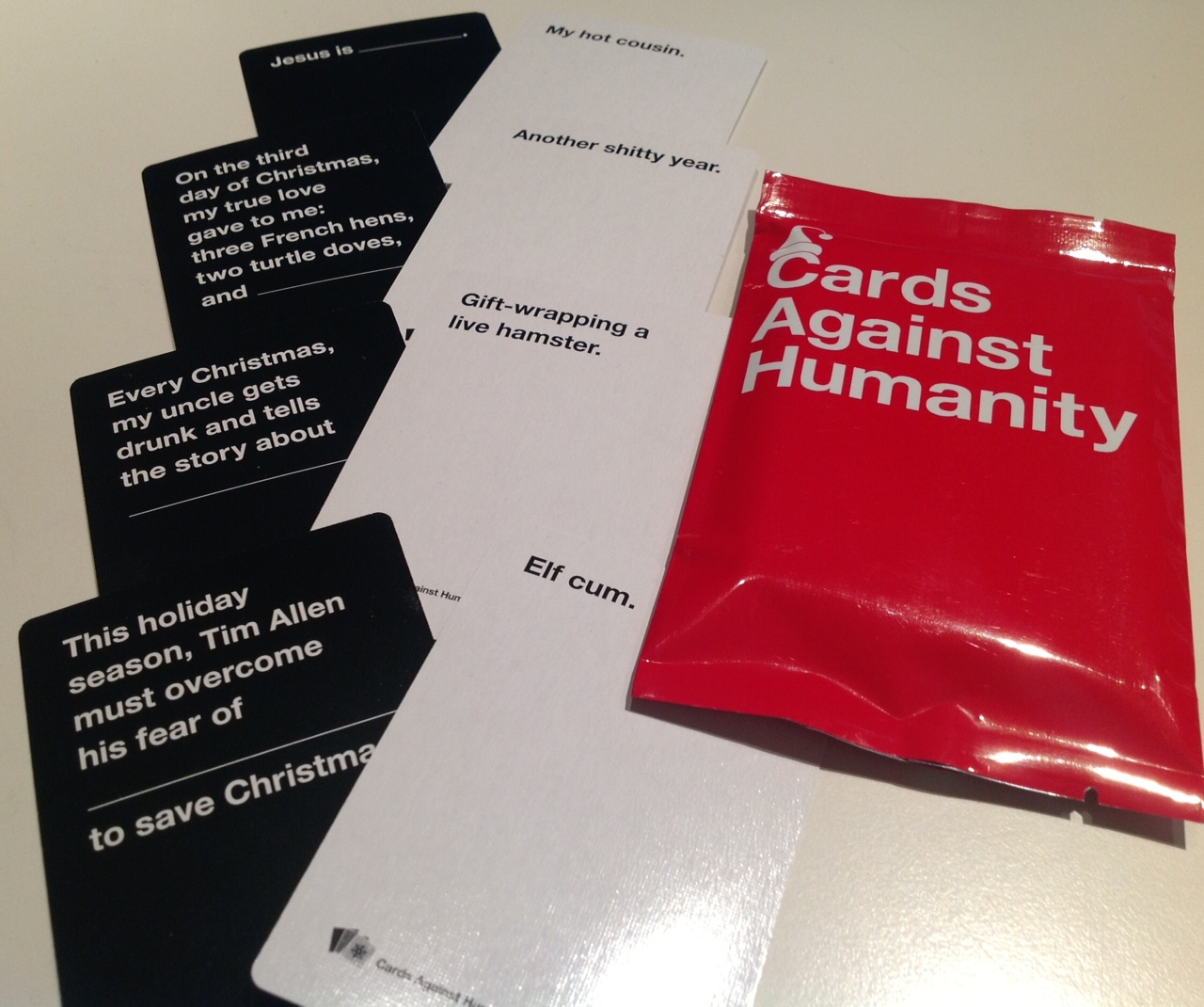 Cards Against Humanity Holiday Packs | Personalized ...